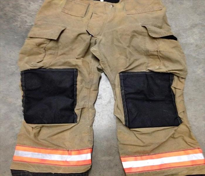 Cleaned and Restored Firefighter Turnout Gear After