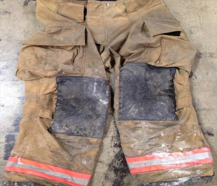 Cleaned and Restored Firefighter Turnout Gear Before