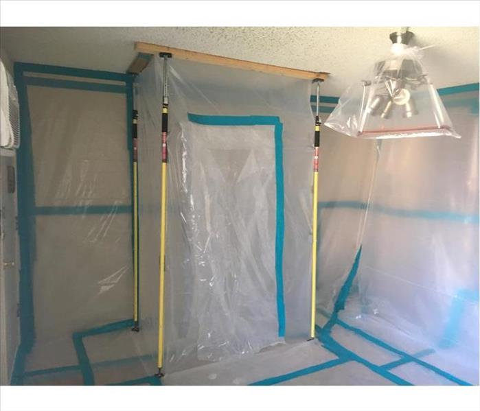 Mold Remediation to a Commercial Building in Nashville