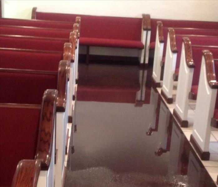 Berry Hill Water Damage to a Chapel