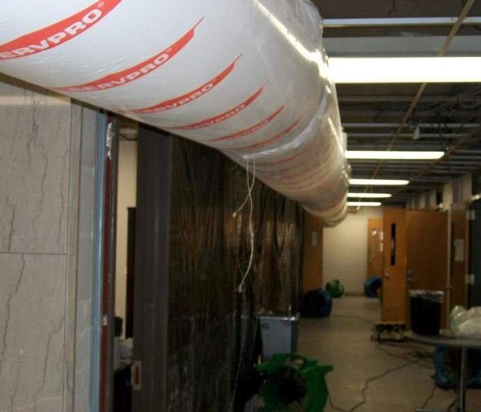 University of Memphis Water Damage
