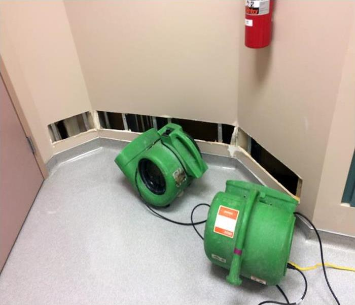 Commercial Water Damage At A Nashville Medical Facility