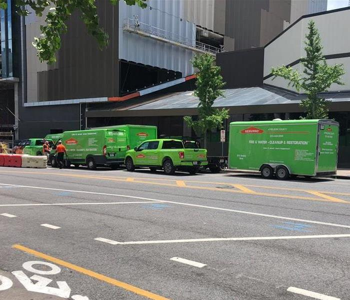 Commercial Response by SERVPRO