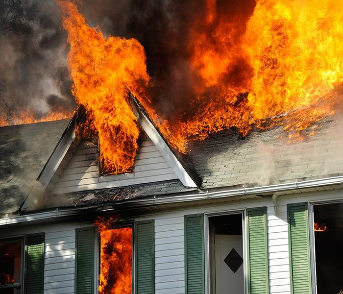 Fire Damage Causes of Residential Fire Damage