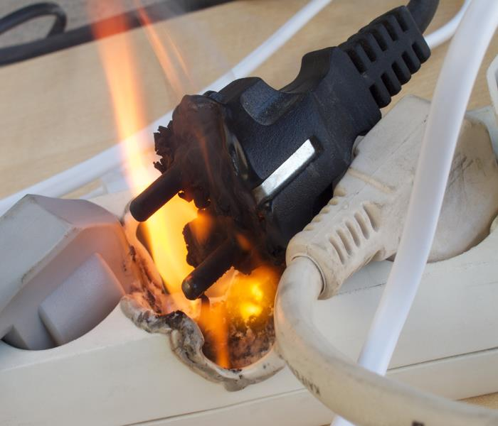 Fire Damage Oak Hill Electrical Fire Safety Tips