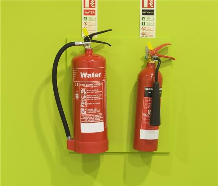 Fire Damage Choosing the Right Fire Extinguishers for Your Nashville Home Helps Prevent Damage